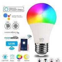 E27 Fcmila Smart Wifi lampadina dimmerabile lampadina 220V 15W lampadina intelligente fredda e calda controllo vocale lavora con Alexa Google Home