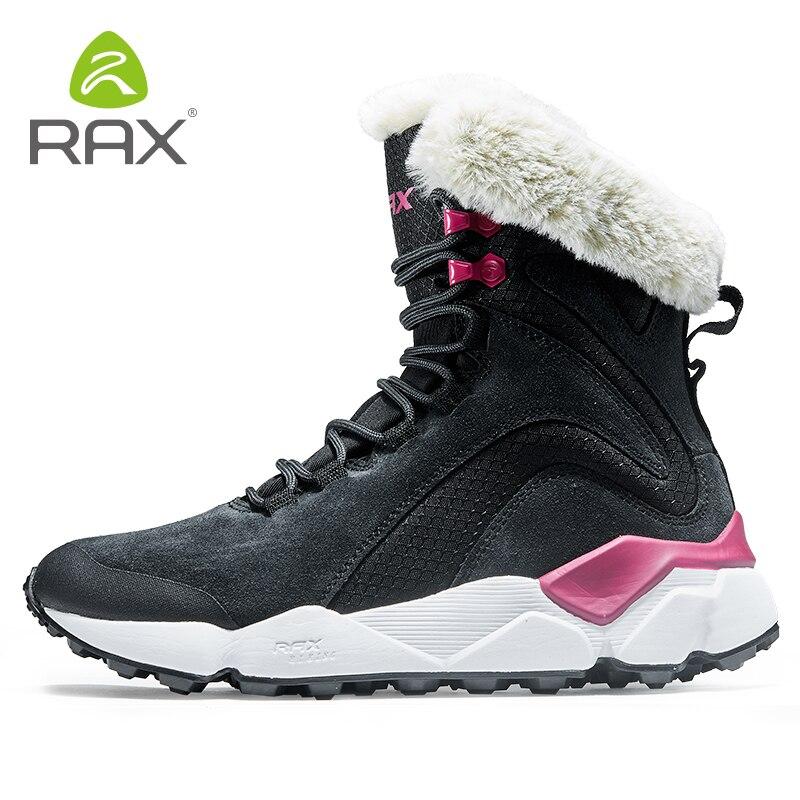 RAX мужские водонепроницаемые треккинговые ботинки Горные походные ботинки из натуральной кожи мужские дышащие водонепроницаемые треккинг... - 4