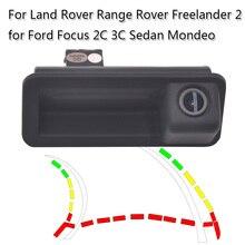 Динамическая траектория автомобиля камера заднего хода для r Land Rover Range Rover freelander 2 Ford Focus 2C 3C Sedan Mondeo