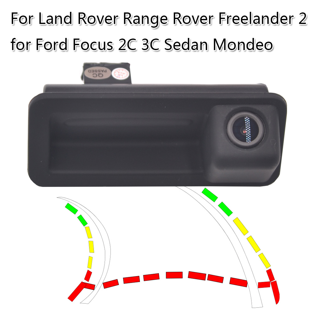 Dynamic Trajectory Car Reversing Camera For R Land Rover Range Rover Freelander 2 Ford Focus 2C 3C Sedan Mondeo