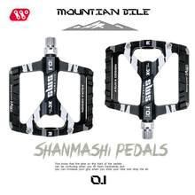 1 paar Utral Versiegelt Bike Pedale CNC Aluminium Körper Für MTB Straße Fahrrad 3 Lager Fahrrad Pedal Nicht-slip klampe Fahrrad Teil Pedale