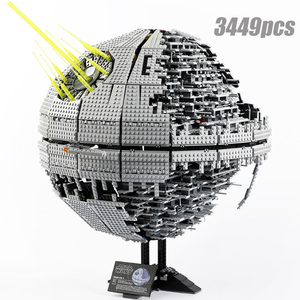 2020 05026 3449 шт Звездные войны серии звездный План серии силы пробудить UCS Death Star II строительные блоки игрушки Наборы