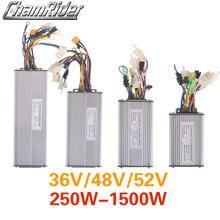 Elektryczny kontroler rowerowy 36V 48V Ebike bezszczotkowy kontroler 250W 350W 500W 750W 1000W 1500W kontroler KT podwójny tryb sinusoida