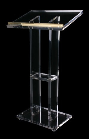 Clear Acrylic Lectern Church Lectern Perspex Church Transparent Acrylic Church Podium Pulpit Plexiglass