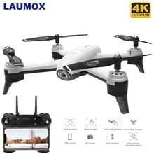 LAUMOX SG106 RC Drone 4K Camera Optische Stroom 1080P HD Dual Camera WiFi FPV Antenne Video Drone Quadcopter vliegtuigen Positionering(China)