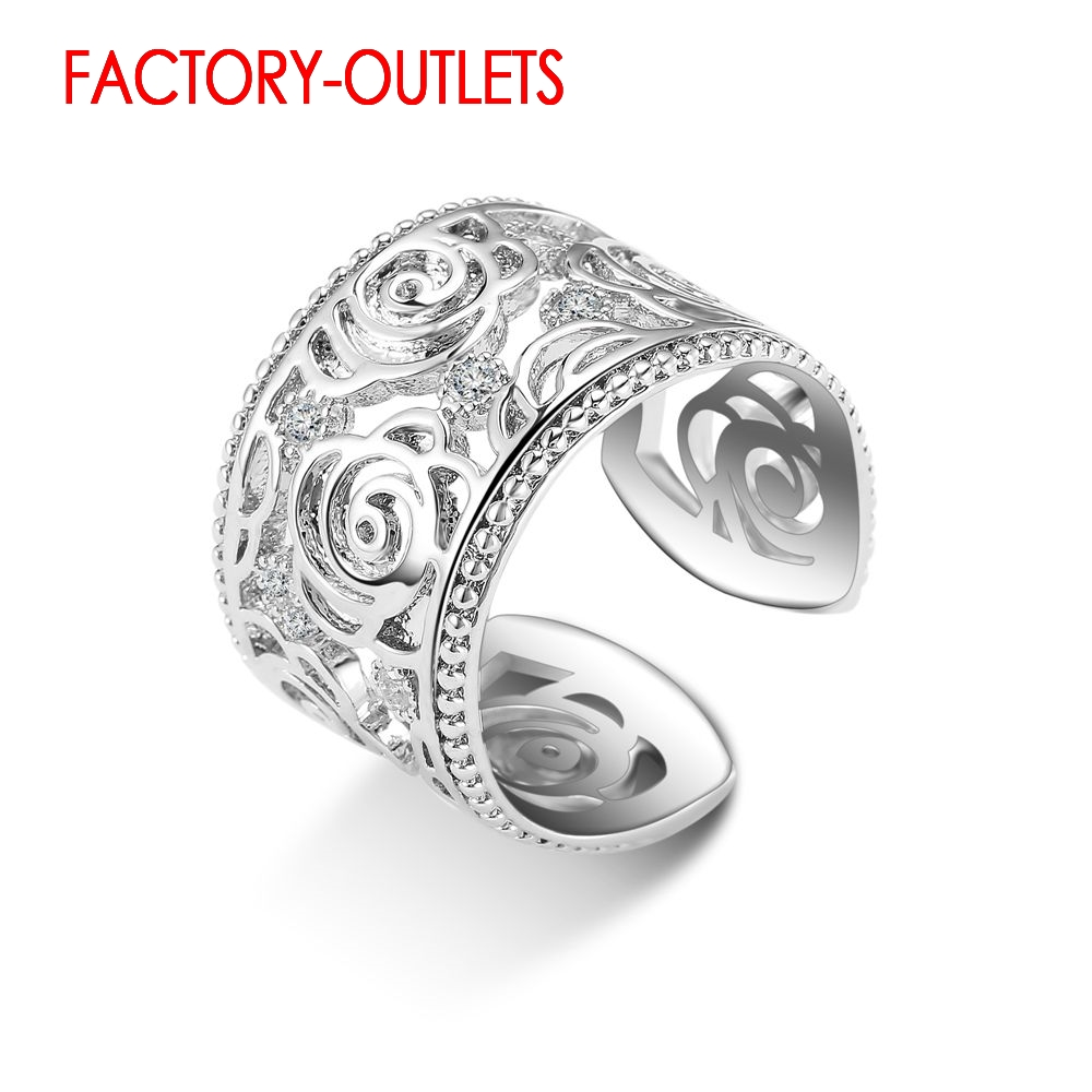 Engagement Ring Bridal Set 925 Sterling Silver Fashion Jewelry Classic Antique Style Women Girls Lovers' Best Gift Wholesale