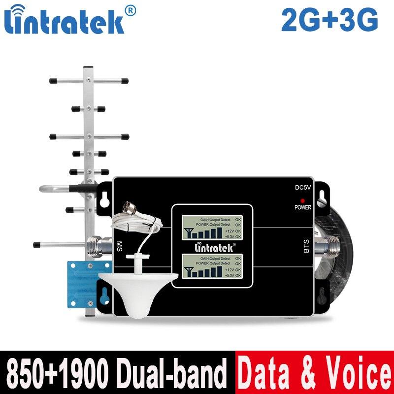 Wzmacniacz sygnału Lintratek 850 1900