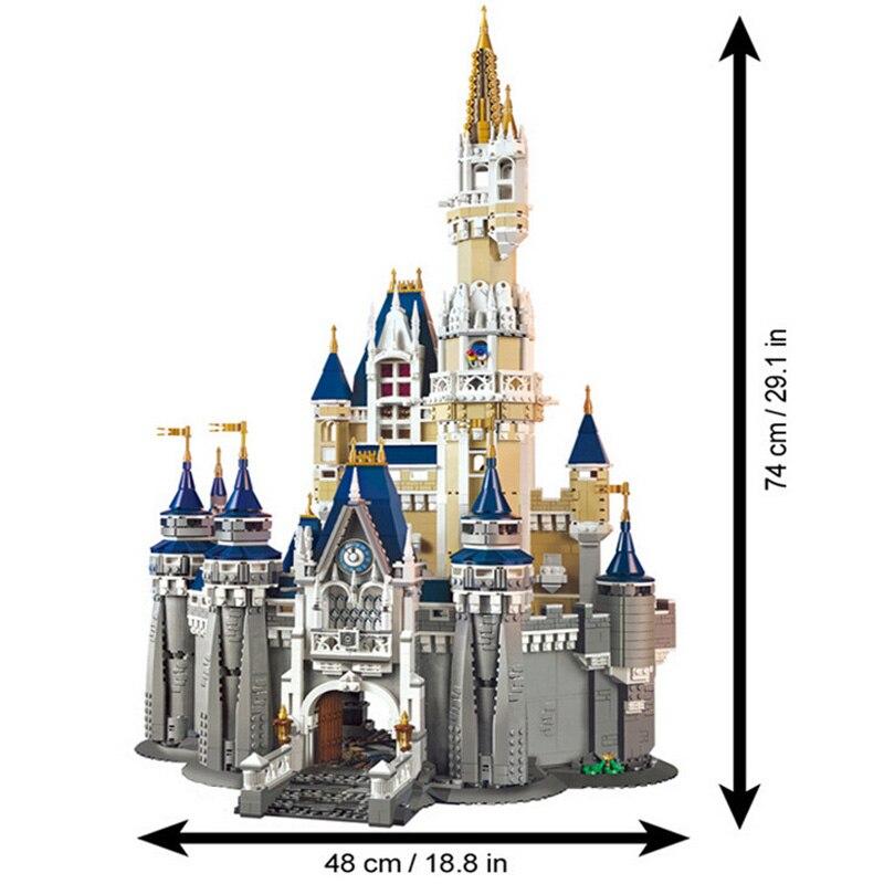 71040 Cinderella Princess Castle Set Building Blocks Bricks with figure Birthday Christmas Gifts for Girls 2
