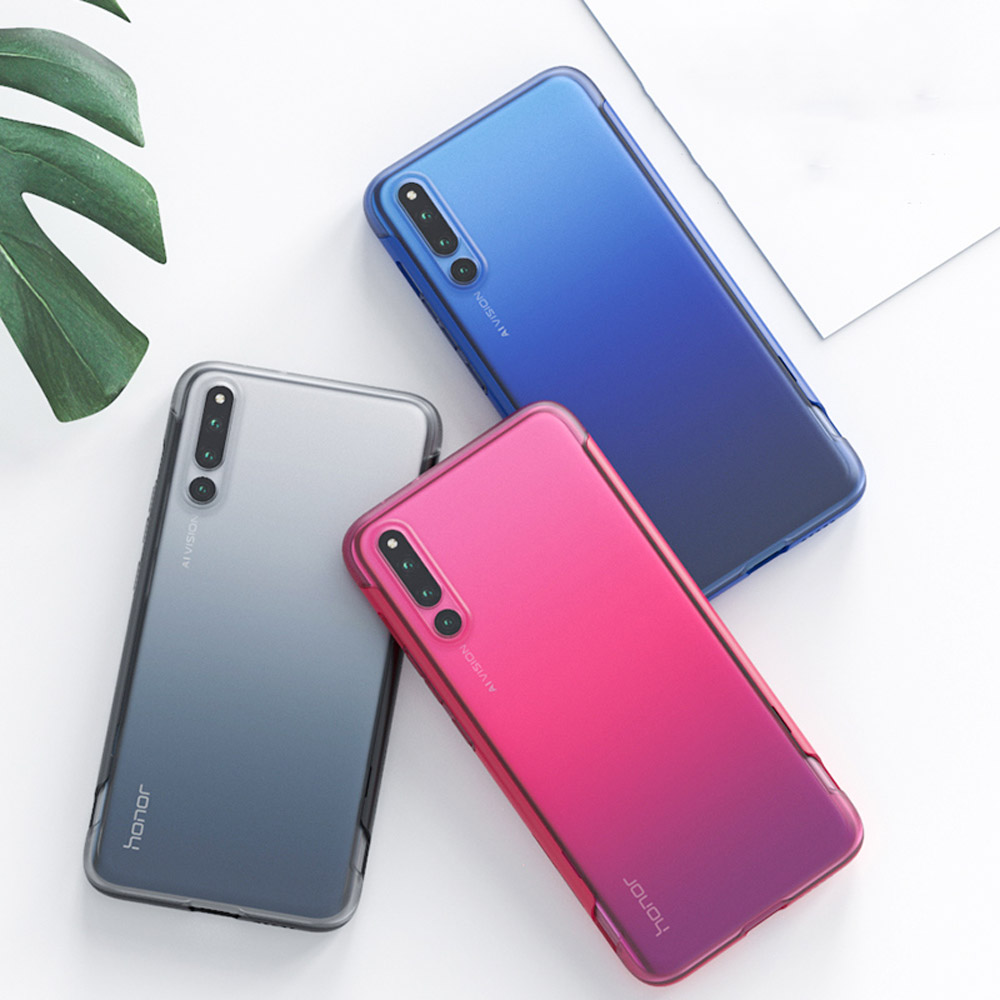 GKK  2in1 Slide Case For HUAWEI Nova 5i P30 PRO Mate20 Y6 2019 Transparent Frosted Cover Honor 9X 20 20i 8X