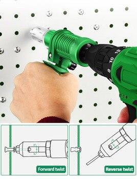 Electric Rivet Gun Adapter Electric Drill Blind Rivet Gun Head 2.4mm-4.8mm Industrial  Handheld Pull Rivet Nut Tool 3