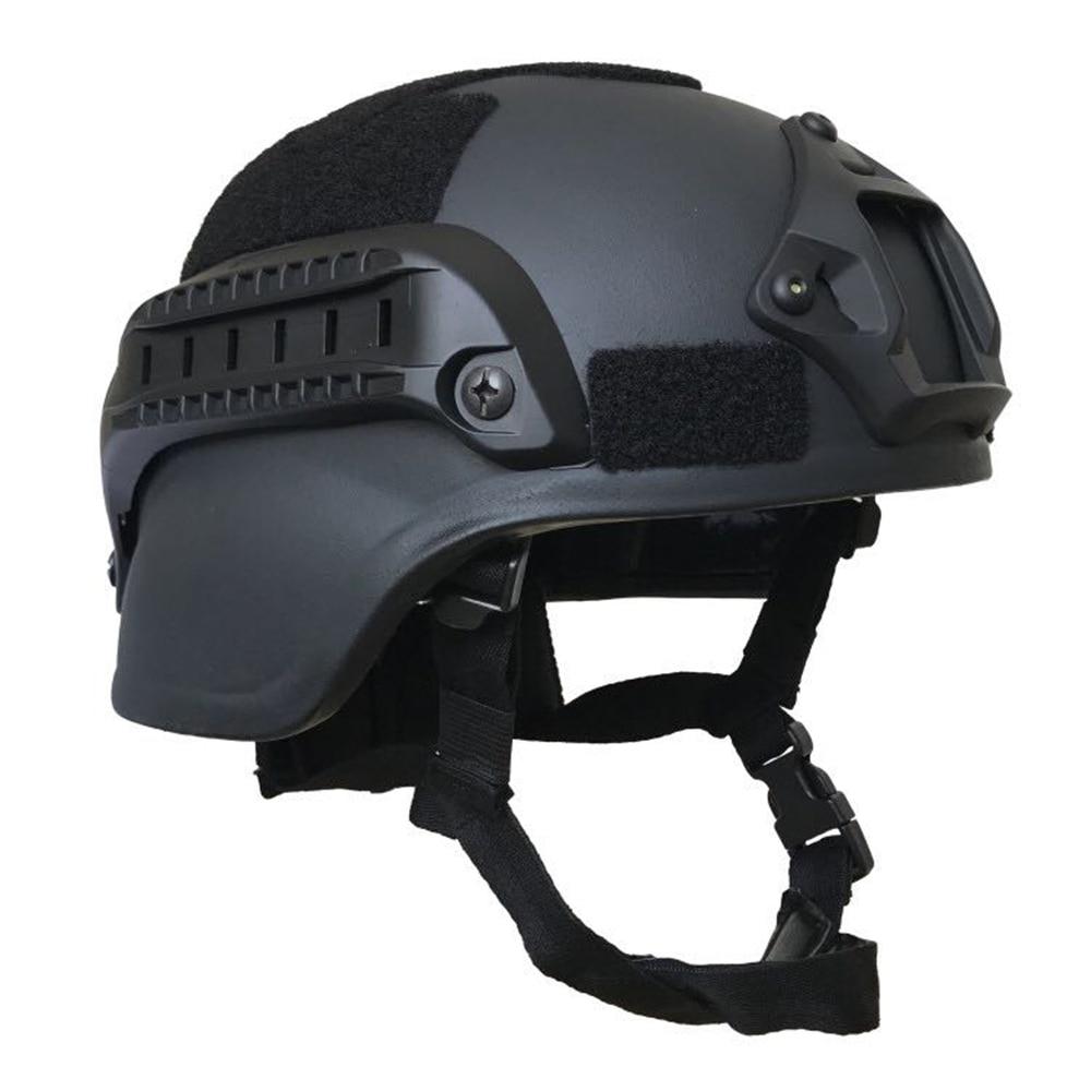 9mm Bullet  NIJ IIIA Military Tactical Combat Aramid US MICH 2000 Bullet Proof Helmet