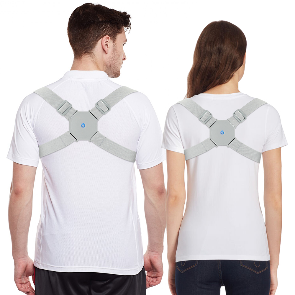 Breathable Posture Corrector Belt to Get Confident Posture Easily Helps to Align Shoulder Spine and Upper Back for Men and Women
