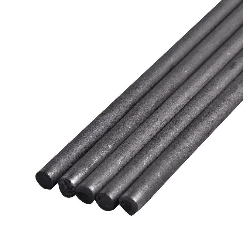 5 шт./лот 99.99% карбоновые стержни графитовый стержень 3-16 мм x 100 мм Графитовый Электрод цилиндр коррозионная стойкость проводящее обучение