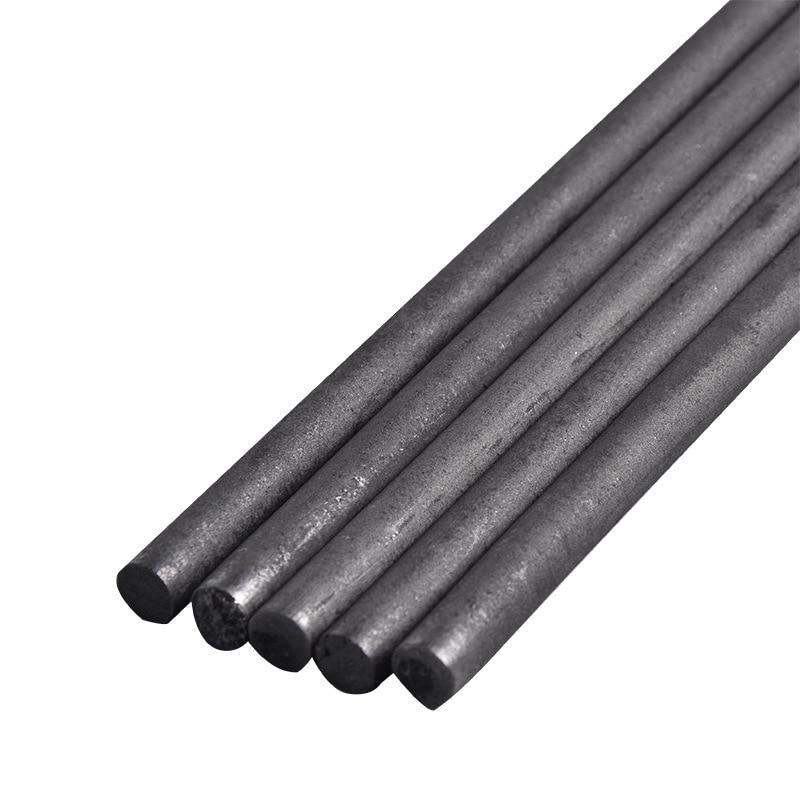 5pcs/lot  99.99% Carbon Rods Graphite Bar 3-16mm X 100mm  Graphite Electrode Cylinder Corrosion Resistance Conductive Teaching