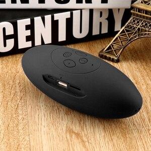 Image 4 - Draagbare Draadloze Bluetooth Speaker Mini 3D Geluid Systeem Stereo Muziek Luidspreker Tf Subwoofer Zwart