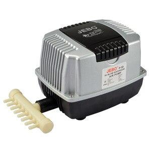 Image 1 - مضخة هواء عالية القوة من JEBO ، جهاز تهوية بركة سمك الحوض. كتم مضخة هواء موفرة للطاقة للغاية. مشاهدة آلة الأكسجين خزان الأسماك.