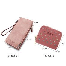 Leather Womens Phone Wallet Female FD01