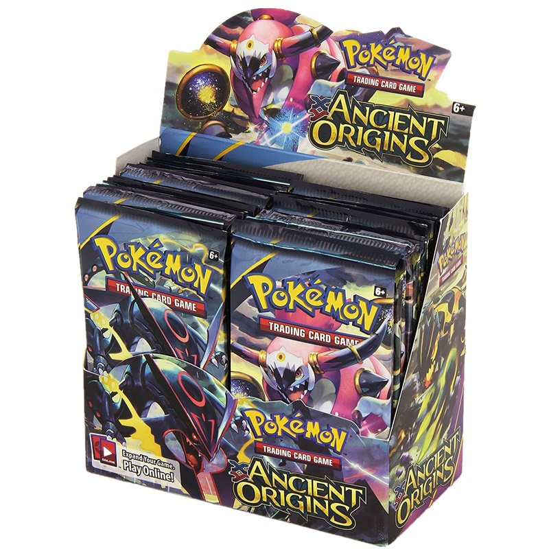 Pokemon Trading Card Game XY Ancient Origins Display Booster Box With EX Cards