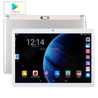 Globalna wersja darmowa wysyłka 10 cal Tablet PC 3G telefon 32GB ROM 4G LTE Android 9.0 WiFi 1280*800 IPS 2.5D szkło + prezenty
