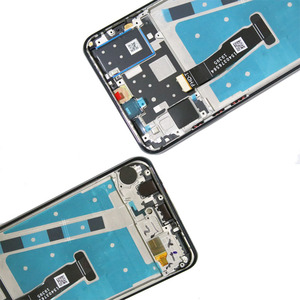 Image 4 - Original 6.15 Display mit rahmen Ersatz für Huawei P30 Lite Nova 4e LCD Touch Screen Digitizer Montage MAR LX1 LX2 AL01