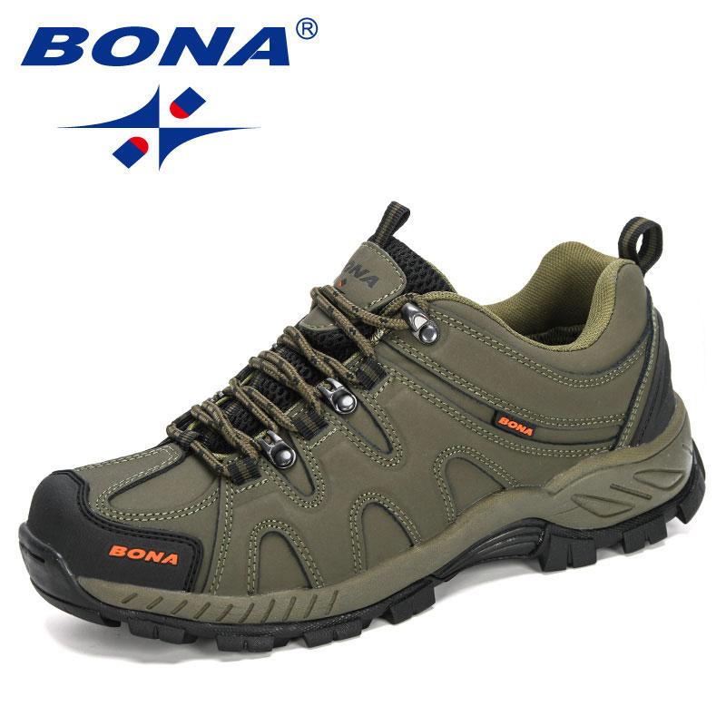 BONA — Chaussures de randonnée à lacets pour hommes, baskets de style classique pour le sport, le jogging en plein air et le trekking, nouvelle collection, livraison rapide et gratuite 1