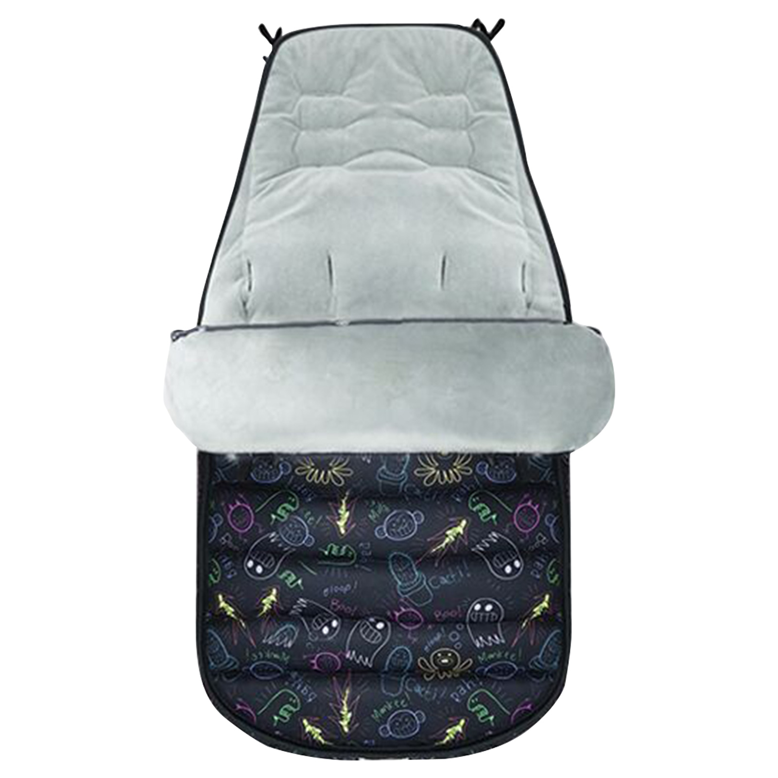 Baby Stroller Sleeping Bag Warm Stroller Foot Cover Universal Thick Seat Cushion Foot Cover Windproof Cover Winter