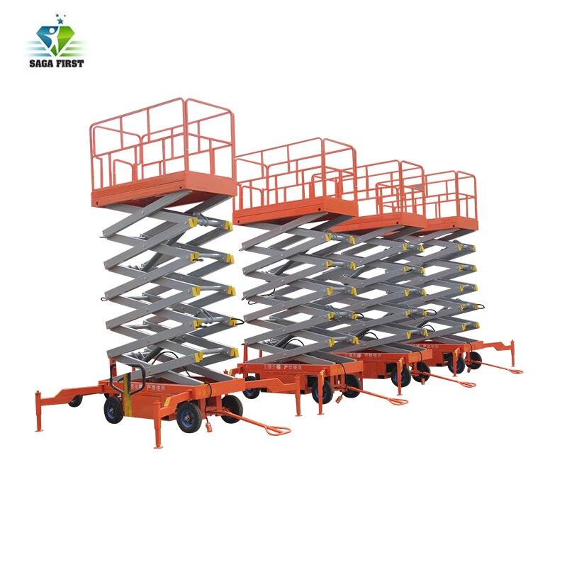 Electric Aerial Work Platform Hydraulic Scissor Lift
