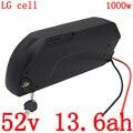 Аккумулятор для электровелосипеда 52 в 13 Ач, 51,8 в 52 в 14 Ач, литий-ионный Аккумулятор LG с мотором для электровелосипеда 48 в 500 Вт 750 Вт 1000 Вт