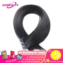 Addbeauty Tape In Hair 613 Blonde Light Brown Natural Black Straight Remy Human Extensions 2.5g/stand 20pcs/pack Skin Weft