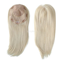GLORYHAIR - TP37- Women Long Hair Natural Straight Women Toupee Chinese Cuticle Remy Hair Topper for Women