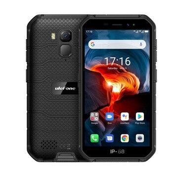 Купить Ulefone Armor X7 Pro Android 10 смартфон 4 ГБ ОЗУ смартфон IP68 Водонепроницаемый Bluetooth 5,0 NFC 4G LTE 5,0 ''прочный мобильный телефон