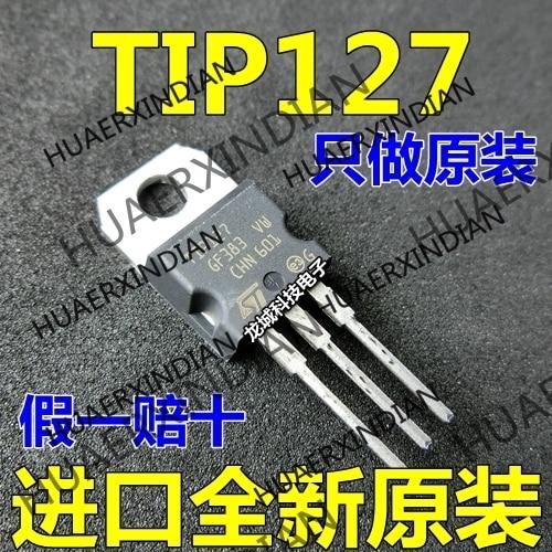 10 peças/lote novo tip127 to-220 em estoque