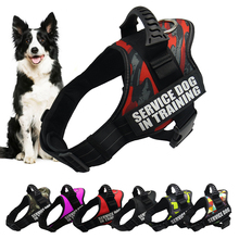 Adjustable K9 dog harness vest nylon pet leash reflective for large accessories Shepherd no pull pug Labrador