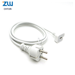 Wysokiej jakości europa ue wtyczka Volex 1.8M przedłużacz kabla do Apple MAC IPAD AIR Macbook pro ładowarka Adapter 45w 60w 85w
