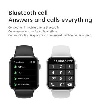 IWO 13 Pro T800 Smartwatch 2021 1.72 Inch Bluetooth Call DIY Dail Fitness Bracelet Smart Watch Men Women PK IWO W46 W56 Series 6 3