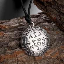 Dawapara – collier en forme d'archange pour homme et femme, bijoux Vintage, avec pendentif et corde