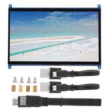 Przełącznik monitora lcd do wyświetlacza Raspberry Pi 1024X600 moduł ekranu dotykowego HD wielofunkcyjny kontroler monitora lcd 10in