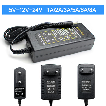 Power Adapter Universal 5V 9V 10V 12V 13V 15V Power Adapter 24V 1A 2A 3A 5A 6A 8A AC 220V To DC 12V 5V 24V For LED Strip Lamp l7810 l7810cv to 220 10v 1 5a