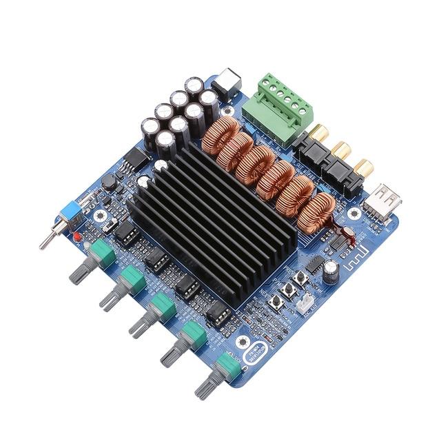 AIYIMA placa amplificadora de potencia TDA7498E, 160W x 2 + 220W, 2,1 canales, Amplificador de sonido Subwoofer, bricolaje, para el hogar y el coche