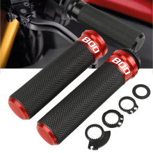 For Honda VFR800 1998 1999 2000 2001 Motorcycle 7/822mm CNC Handlebar Hand Grips Motorbike With 800 LOGO
