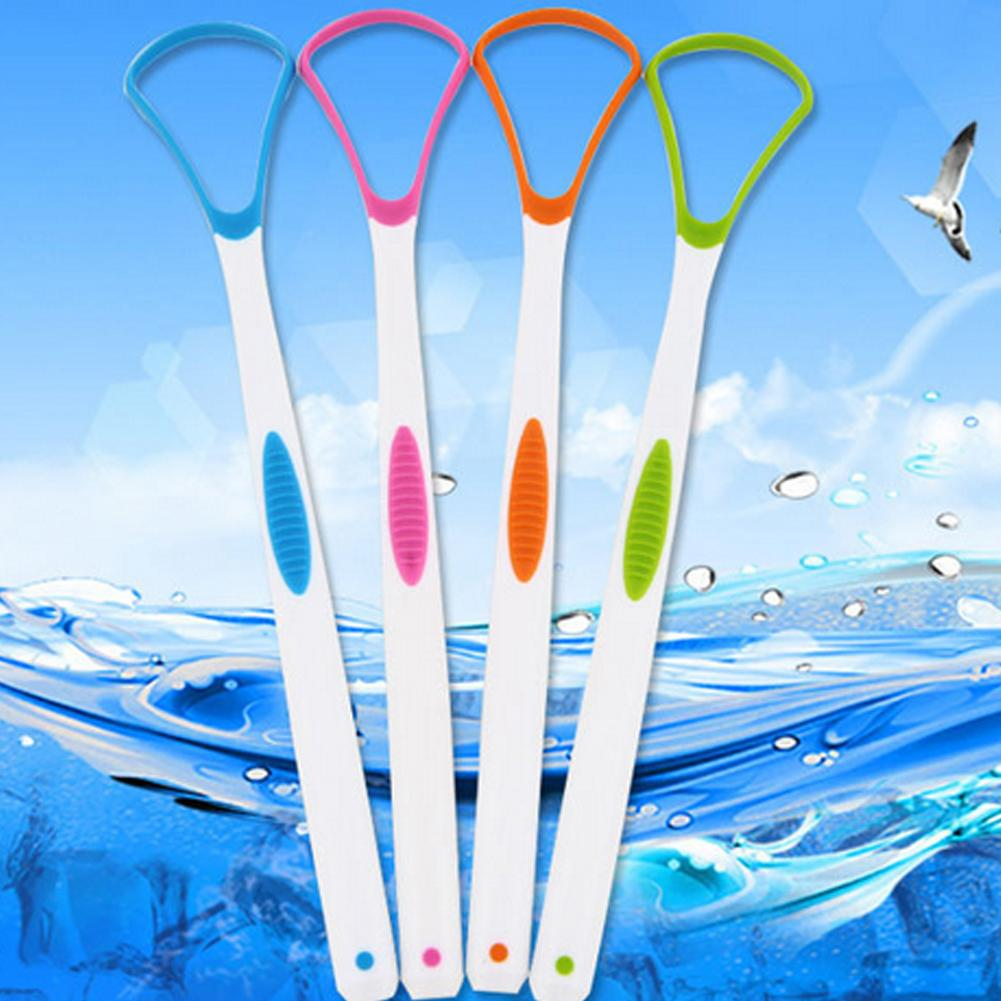 High Temperature Resistant Tongue Scraper Cleaner Dirt Plaque Remover Oral Care Tongue Cleaners