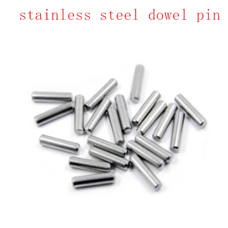 5-50pcs M1 M1.5 M2 M2.5 M3 M4 M5 M6 M8 GB119 Parallel Pins 304 Stainless Steel Cylindrical Locating Dowel Pin Length 4mm To 50mm