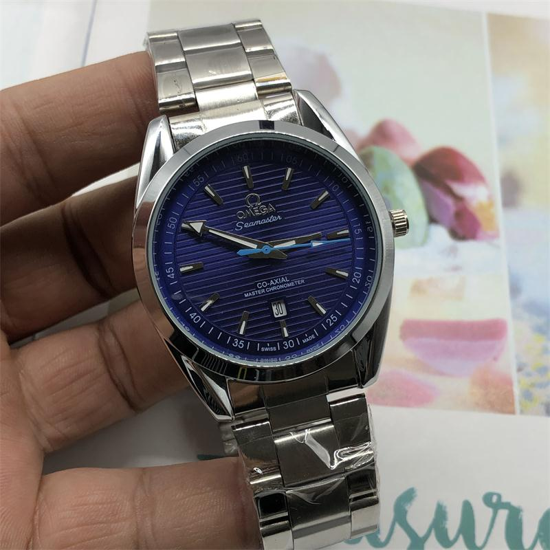 OMEGA- Europe and the United States in 2020 classic style European watch quartz calendarMen and women watch-4