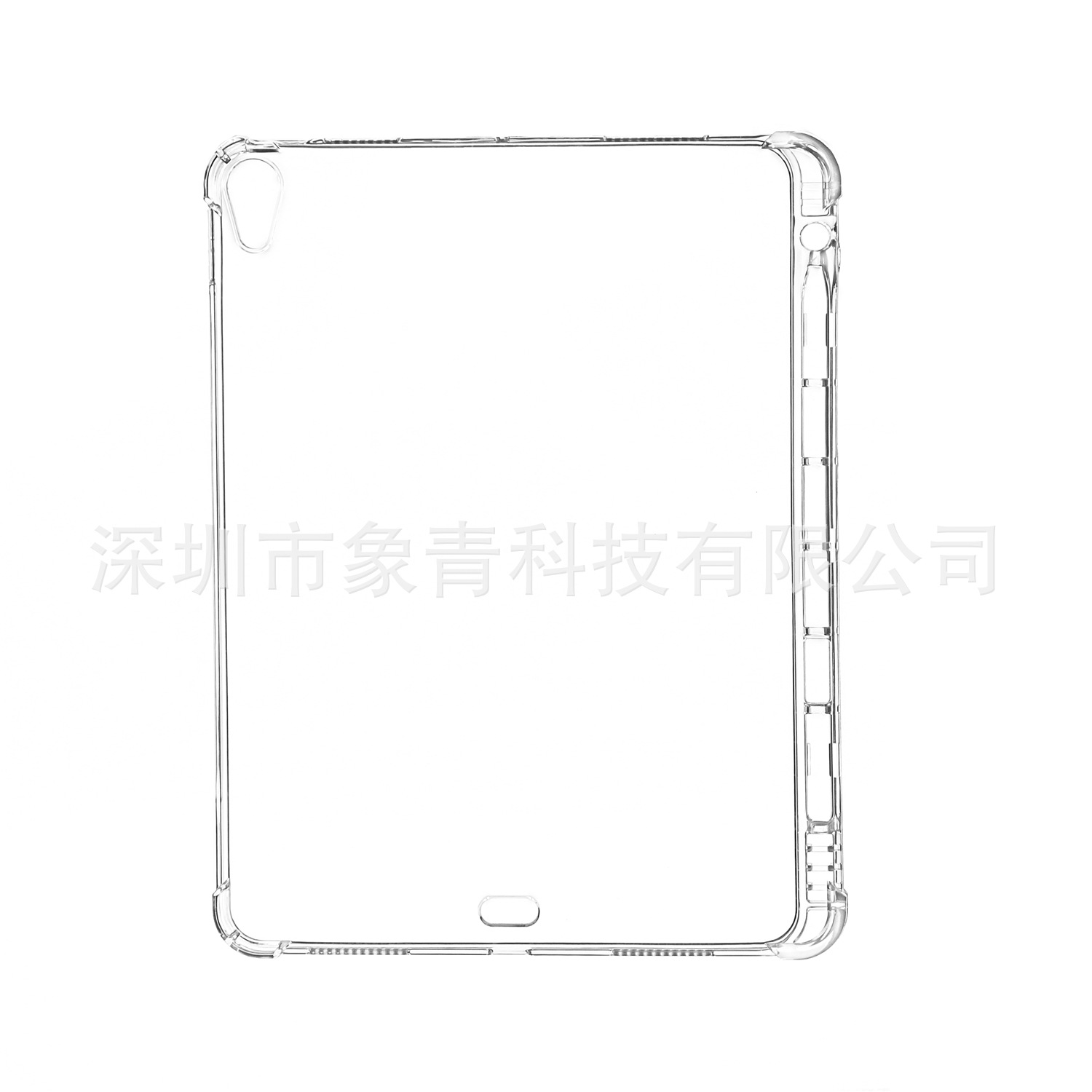 With 4 10.9 Air Cover Soft Back TPU Transparent Silicone For Tablet 2020 Case iPad Shell