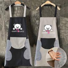 Waterproof High quality Oxford cloth Apron Adult Bibs Cleaning Aprons Kitchen Accessory Wipe hand and oil-proof household apron wq002 kitchen oil proof cloth apron black