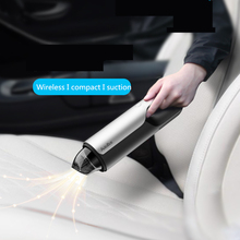 80W Car Wireless Vacuum Cleaner Wet And Dry Dual Use Handheld Rechargeable Cleaning Tool