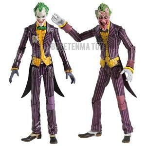 """Image 1 - DC Бэтмен Джокер ПВХ фигурку Коллекционная модель игрушки 7 """"18 см"""