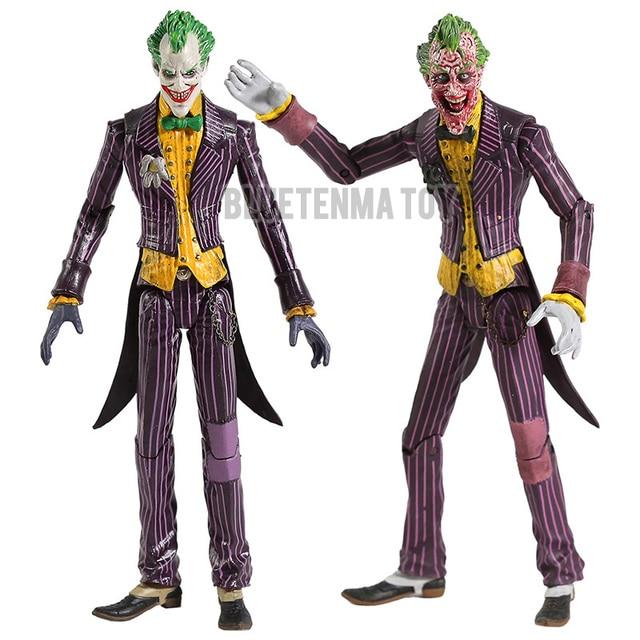 """Dc Batman De Joker Pvc Action Figure Collectible Model Toy 7 """"18Cm"""
