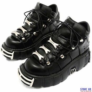 2020 панк Стиль женские сникерсы на шнуровке, на каблуке 6 см Женская обувь на платформе женская обувь на толстой мягкой подошве; Повседневная ...