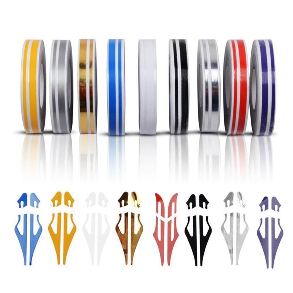 "12mm 1//2/"" Pin Stripe Pinstriping Solid Line Tape Vinyl Decal Sticker Car Black"